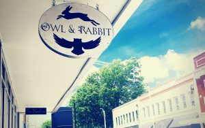 owl and rabbit gallery storefront